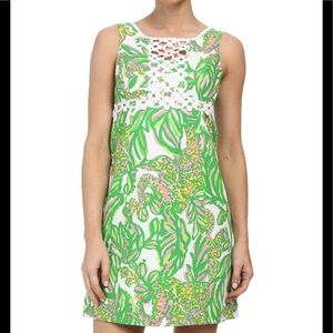 Lilly Pulitzer Dresses - Lilly Pulitzer white Rosie shift dress